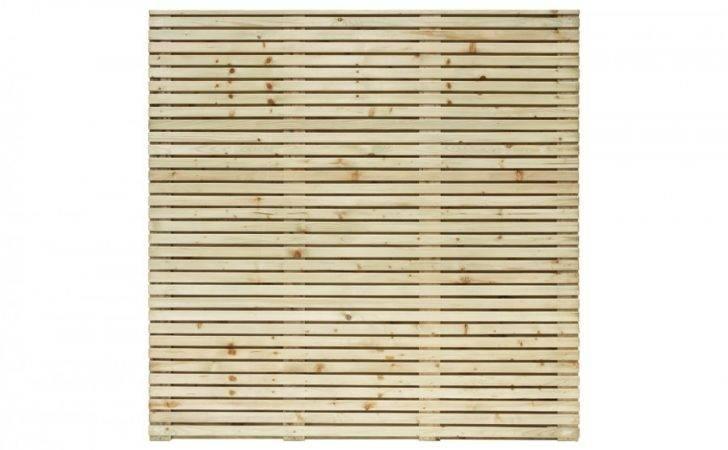 Grange Wooden Contemporary Garden Fence Panel Gardenfencing