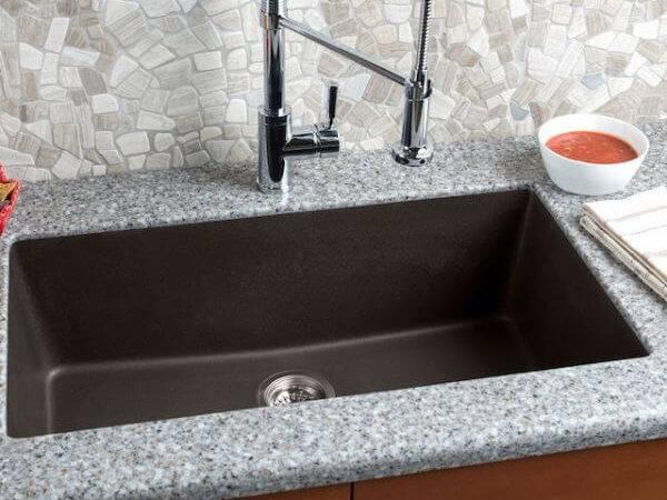 Granite Extra Large Single Bowl Kitchen Sink Hahn