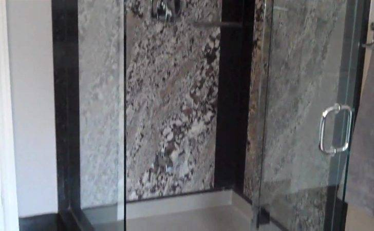 Granite Shower Walls Vanity Youtube