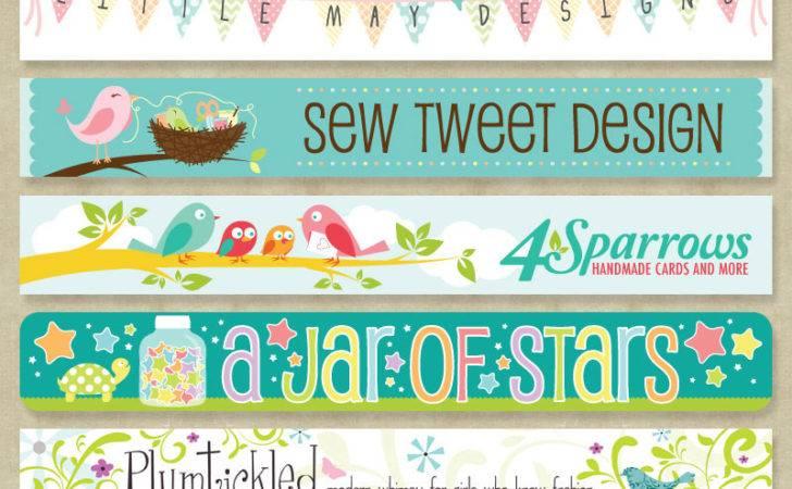 Graphic Design Custom Etsy Banner Plus Studio