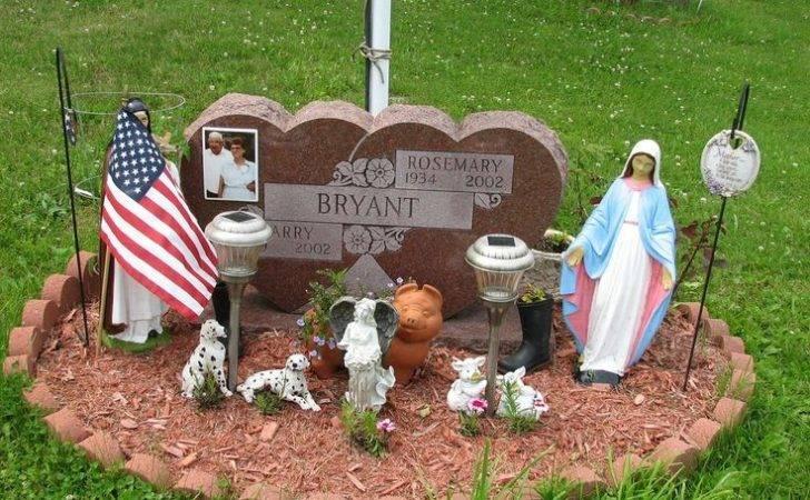 Grave Decoration Ideas Cemetery Decorations Memorial