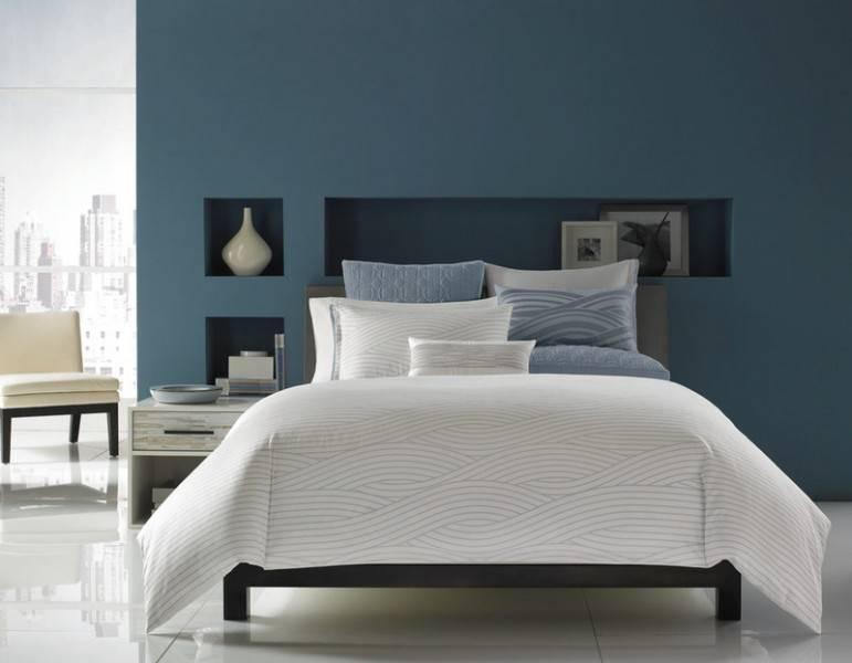 Gray Blue Bedroom Beautiful Homes Design