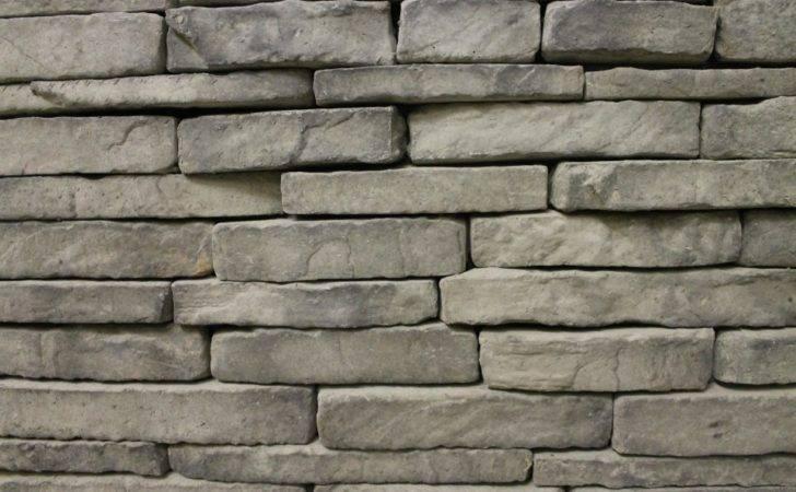 Gray Granite Stackstone Stone Veneer Pavers