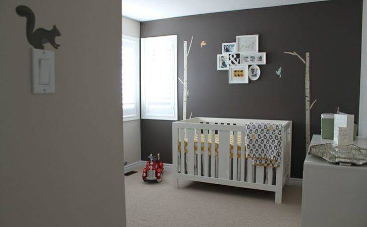 Gray Nursery Baby Pinterest