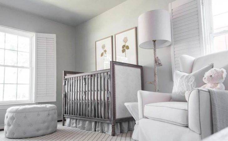 Gray Nursery Ideas Transitional Kylie Frierson Interiors