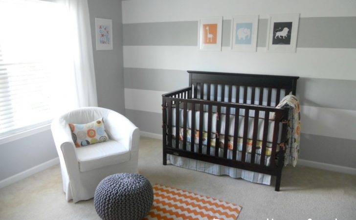 Gray Orange Nursery Project