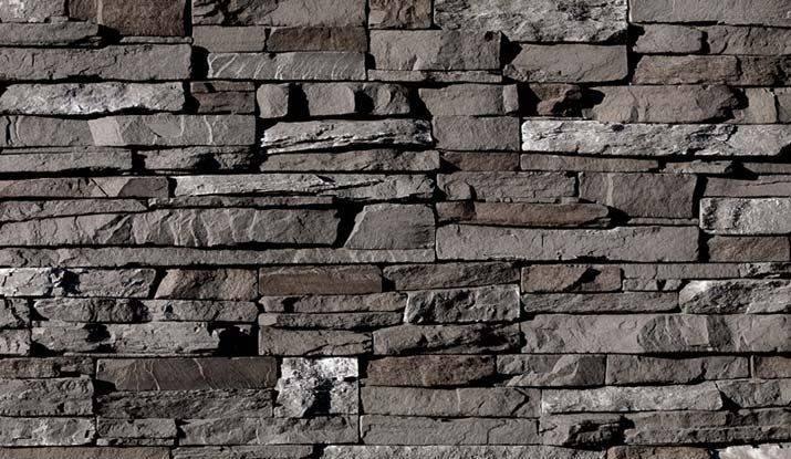 Gray Stacked Stone Eldorado Grey Profiles Pinterest