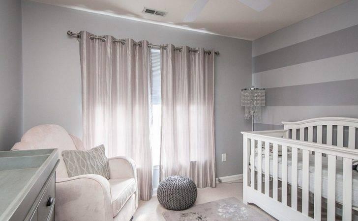 Gray Touch Silver Nursery Design Interior Style