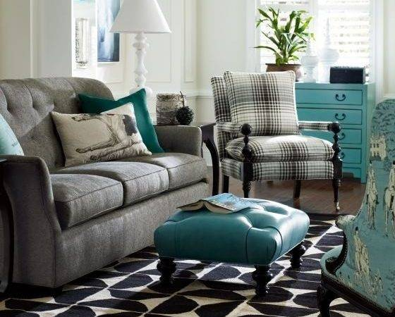 Gray Turquoise Living Room Timeless Pinterest