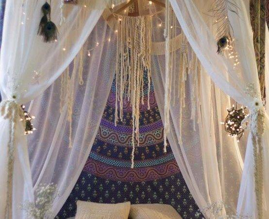 Great Idea Gypsy Style Dining Room Tent Ceiling