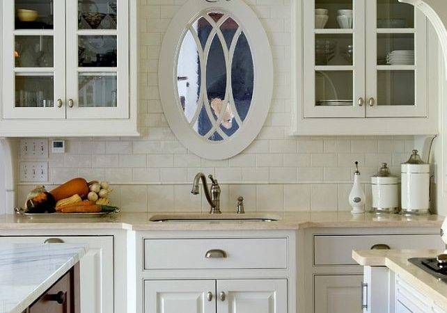 Great Idea Window Front Sink Hang Mirror Not