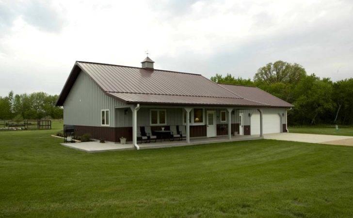 Great Looking Metal Home Porch Garage