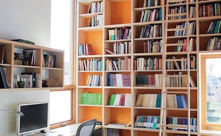Great Wall Bookshelf Modern Library Ladder