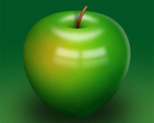 Green Apple Design Photoshop