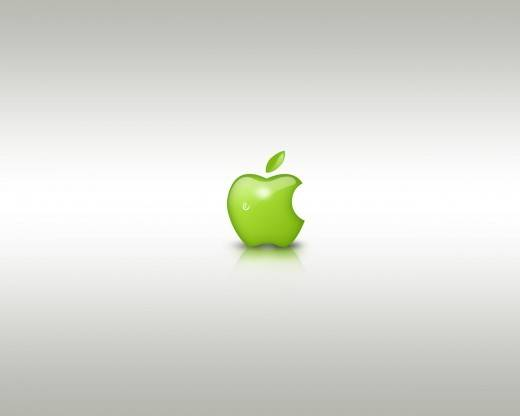 Green Apple Style Design