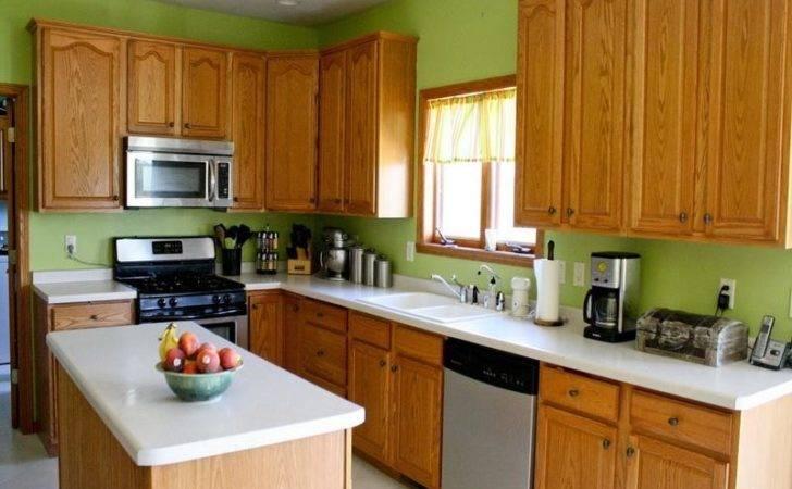 Green Colors Kitchen Walls Choose