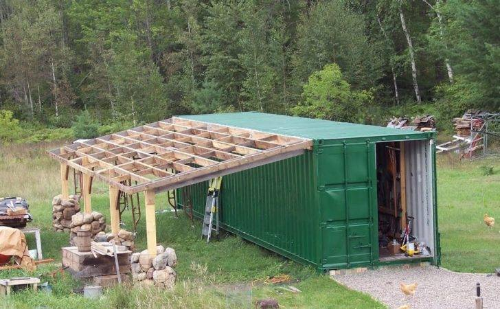 Green Gate Guest House Cargo Container Gets Addition