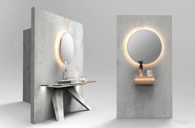 Green Ideas Modern Furniture Home Accessories Made Concrete