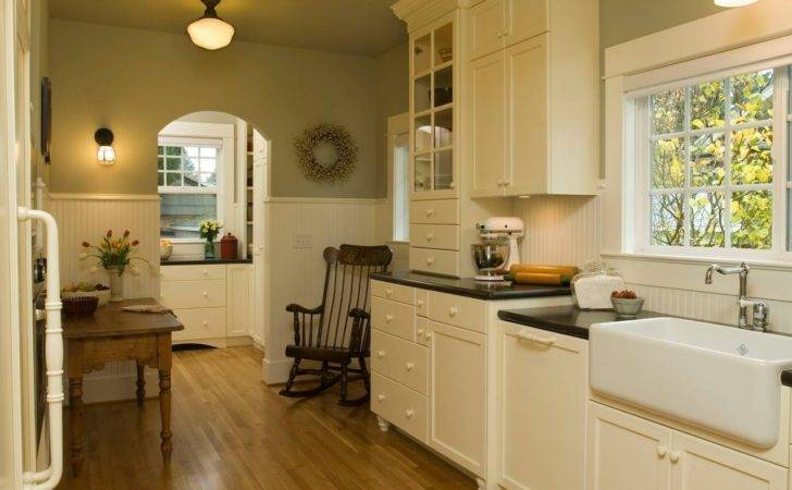 Green Kitchen Colors Walls White Cabinets