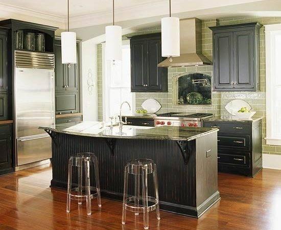 Green Kitchen Design New Ideas