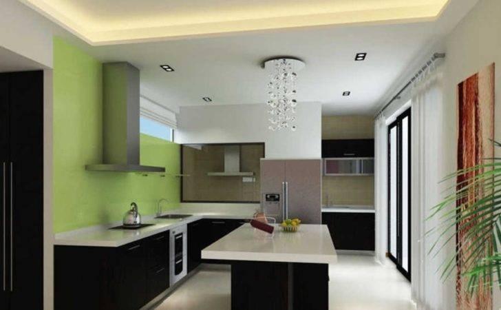 Green Kitchen Walls Colors