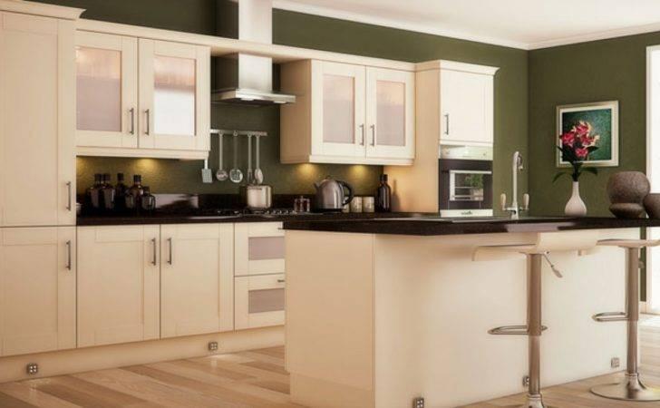 Green Kitchen Walls Olive Yellow