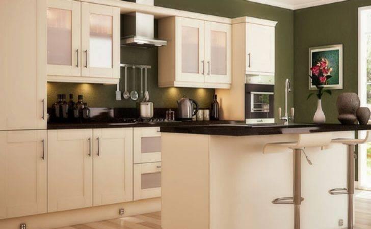 Green Kitchen Walls Olive