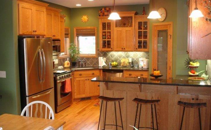 Green Kitchen Walls Pinterest Paint