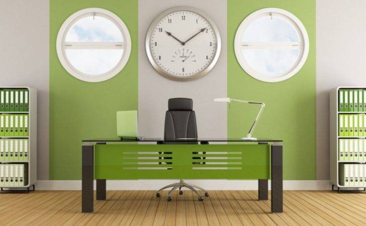 Green Wall Office Interior Design House