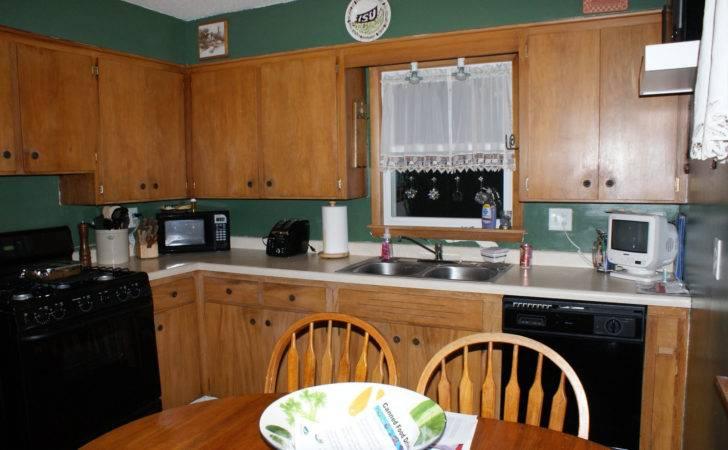 Green Walls Kitchen Updating Pinterest