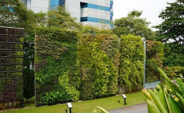 Green Walls Singapore Hortpark Living Wall Systems Vertical