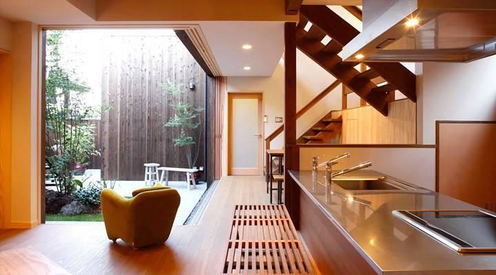 Green Zen Kitchen Design Listed Artistic Concepts