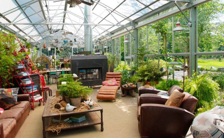 Greenhouse Decorating Ideas Garage Shed Industrial Design