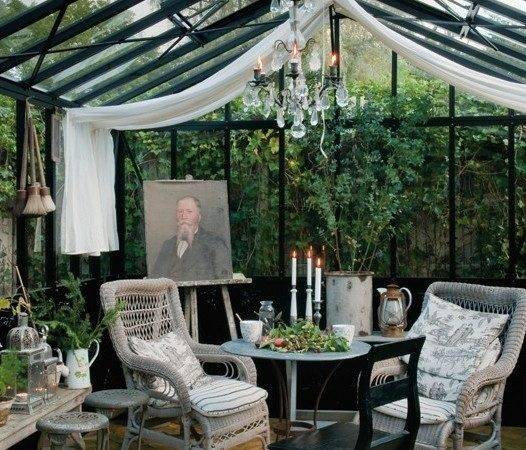 Greenhouse Decorating Ideas Pinterest