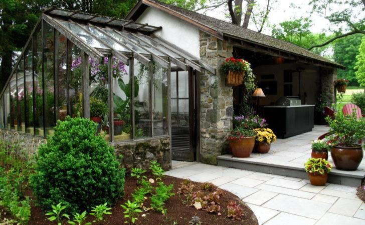 Greenhouse Design Ideas Patio Farmhouse Adirondack Chairs Bbq