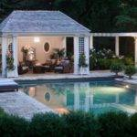 Greenwich Pool House Traditional