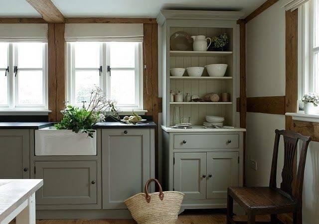 Greige Cabinets Kitchen Pinterest
