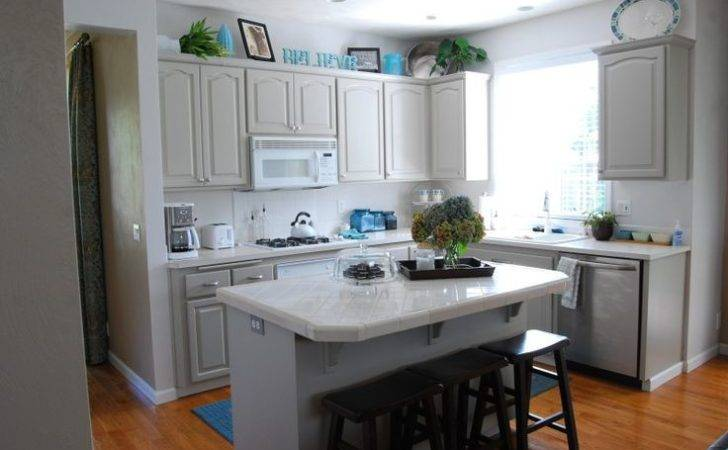 Greige Kitchen Reveal Home Pinterest