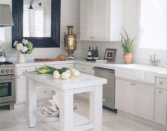 Greige Kitchens Pinterest