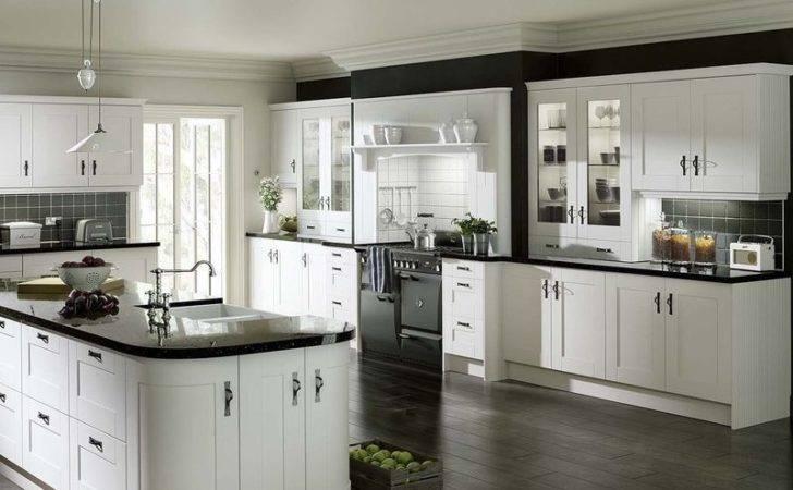 Gresham White Vinyl Wrapped Replacement Kitchen Cabinet