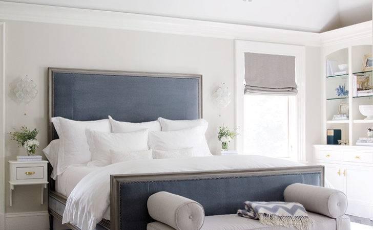 Grey Blue Bedroom