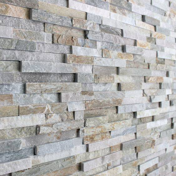 Grey Brick Stone Tile Natural Stones Slate Tiles
