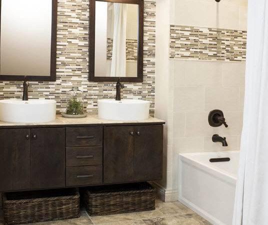Grey Brown Bathroom Tiles Ideas