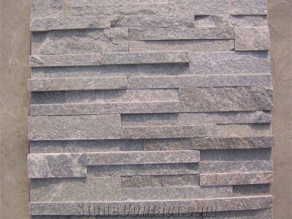 Grey Quartzite Stacked Stone Ledge China
