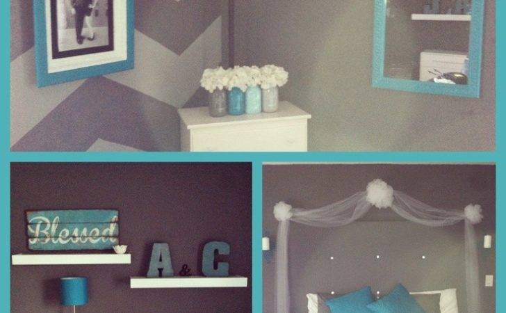 Grey Turquoise Living Room Pinterest