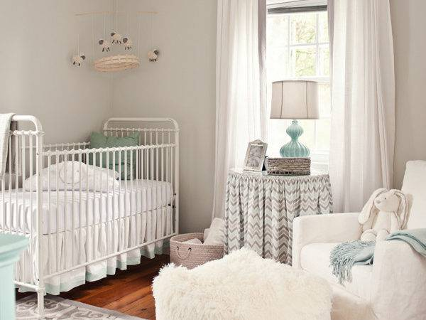 Grey White Neutral Nursery Project