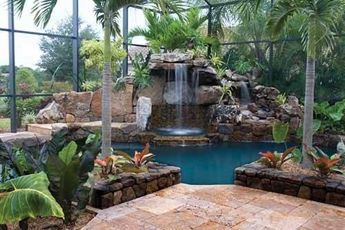 Grotto Pool Designs Virtual Design Water Feature