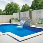 Ground Backyard Pool Patio