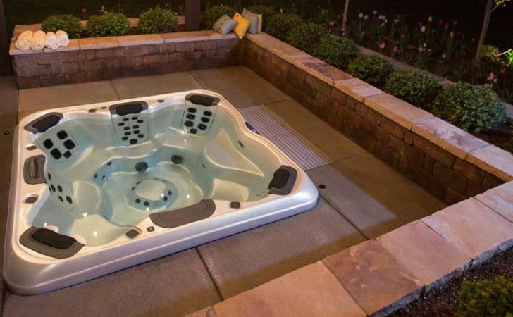 Ground Hot Tub Spa Kit Built Spas