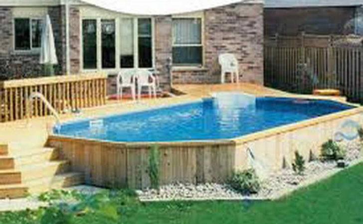 Ground Pool Deck Above Lap